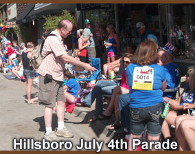 Hillsboro 4th of July Parade